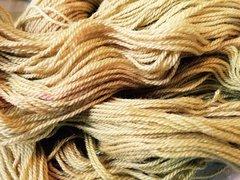 Autumn Gold DK Merino, Silk, Gold Stellina blend 50g