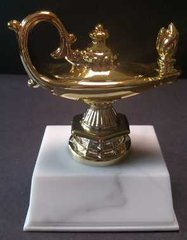 Lamp of Knowledge Trophy