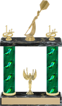Small 2 Column Trophy