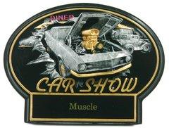 Burst Thru Car Show