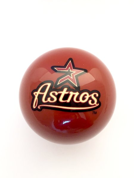 Houston Astros Mlb Gear Shift Knob Universal Rocknob