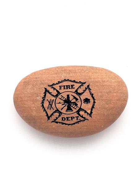 Rocknob Moab Fire Department Matlese Cross Gear Shift Knob