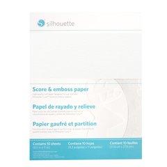 Score & Emboss Paper 8.5 x 11