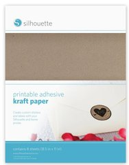 Printable Adhesive Kraft Paper