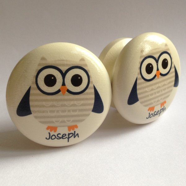 Owl Door / Drawer / Cupboard Knob | Surface Candy