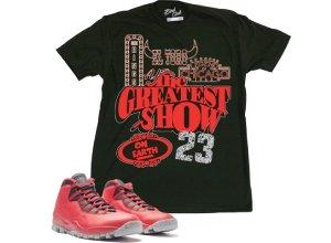 8b096c1ca78 Brodway 10 shirt broadway 10 tee Jordan 10 shirt broadway shirt | Sneaker  Tees | Sneaker matching Clothing | Kicks Tees