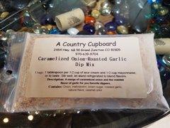 Caramelize Onion-Roasted Garlic Dip Mix