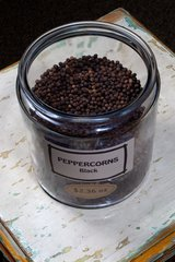Black Peppercorns - by the ounce