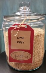 Lime Peel Granules - by the ounce
