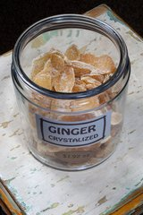 Ginger Crystallized - by the ounce