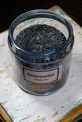 Gunpowder Green Tea - by the ounce
