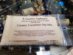 Creamy Cucumber Dip Mix