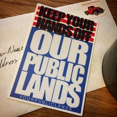 Our Public Lands Sticker