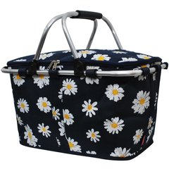 Daisy Print Insulated Picnic/Market Cooler