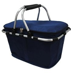 Navy Insulated Picnic/Market Cooler