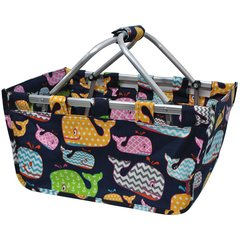 Sea Summer Whale Picnic/Market Basket