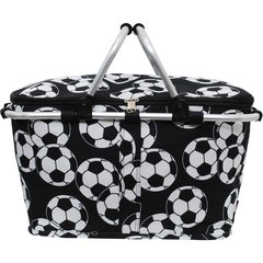Soccer Print Insulated Picnic/Market Cooler