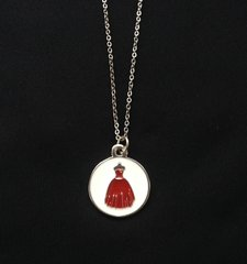 Red Dress Ball Pendant