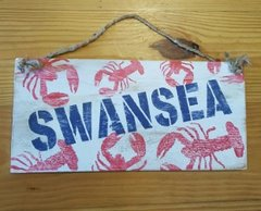 Swansea Nautical Themed Wood Sign
