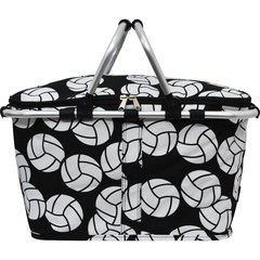 Volleyball Print Insulated Picnic/Market Cooler