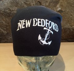 New Bedford Billboard Beanie navy Dip Dye