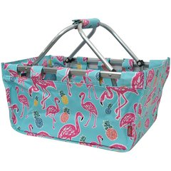Flamingo Collapsible Picnic/Utility Basket