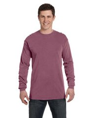 Comfort Color dyed long sleeved t-shirts s-m-l-xl ( berry shown)