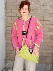 #167 Zipsational swing jacket