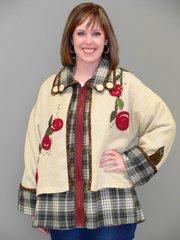 #203 The Tandem Jacket ( wear it 3 ways )