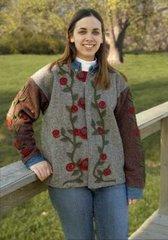 #107 Lil Rosettes jacket