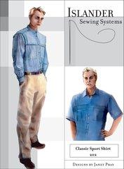 Mens Classic Sport Shirt Pattern ( Islander Sewing System)