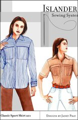 Womens Classic sports shirt ( Islander Sewing Systemaa)