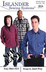 Mens Easy Shirt ( Islander Sewing System )