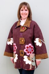 """Kit bundling-#205 Choolburro jacket- fabrics -zipper -pattern"