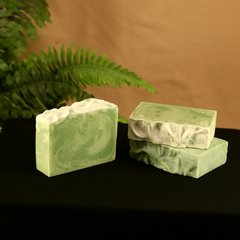 Green Eyed Lady (Cucumber & Cilantro) Handmade Soap