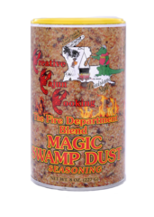 Magic Swamp Dust Seasoning - Fire Department Blend - NO MSG -8 oz can