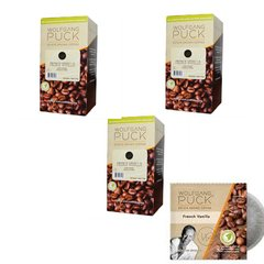 Wolfgang Puck French Vanilla Coffee Pod - 3 Boxes of 18 - 54 Total