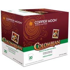 Colombian Decaf Single Cup 20 Count Box