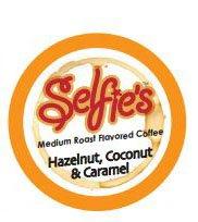 Selfie's Hazelnut Coconut Caramel Flavored Coffee Pod - Single Cup