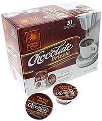Copper Moon Chocolate Drizzle 20 Count Box Single Cup Coffee