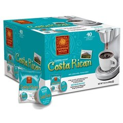 Copper Moon Costa Rican 40 Count AromaCup Single Serve Coffee