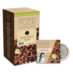 Wolfgang Puck French Vanilla - Box of 18