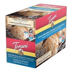 Torani Coconut Macaroon Single Serve Coffee Cups - 24 Count