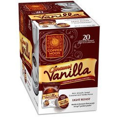 Copper Moon Caramel Vanilla Single Cup Coffee 20 Ct