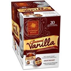 Copper Moon Caramel Vanilla Single Cup Coffee 20 Ct