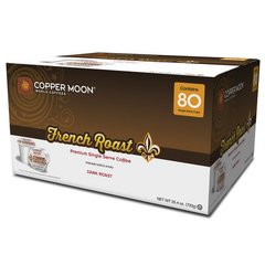Copper Moon French Roast 80 Count Box