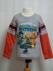 Skylanders Long Sleeved T-Shirt - Light Grey - Age 3 years