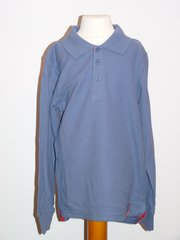 Spider Man Long Sleeved Polo Shirt - Blue - Age 8 years