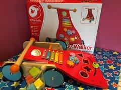 Classic wooden Baby Walker