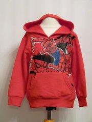 Spider Man Hooded Sweatshirt - Red - Age 4 years